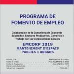 PROGRAMA DE EMPLEO EMCORP 2019
