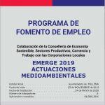 PROGRAMA DE EMPLEO EMERGE 2019